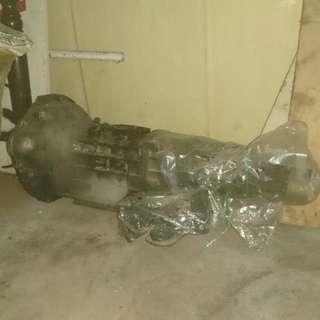 Ke70 5 speed gearbox long shaft
