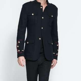 Zara Men's Military Jacket