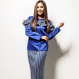 BNWT Adrianna Yariqa Top From Warisan XL