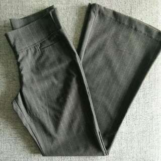 Work Pants Grey With White Strips