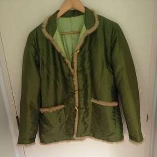 Silk Fur Lined Jacket