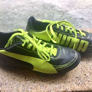 PUMA football or soccer shoes