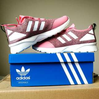 Sz7 Ray Pink/White ZX Flux Addidas