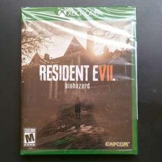 Never opened brand new resident evil 7.