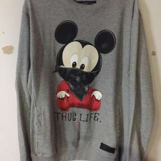 Entree Mickey Mouse Thug Life Size Large