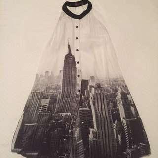 NYC Skyline -Shift Dress