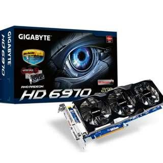 Gigabyte Windforce Edition HD6970 2GB.