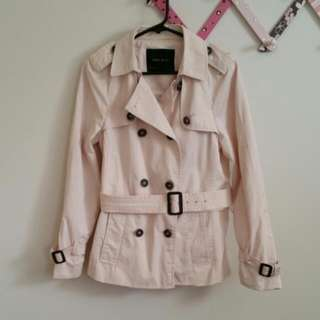 ZARA Basic Light Pink Jacket