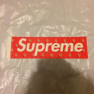 Supreme Box Logo Sticker X Undercover