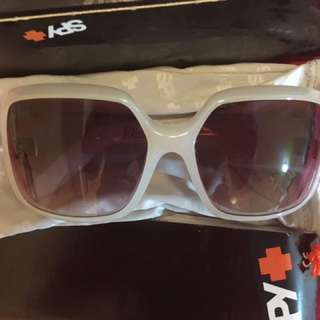 Last Price! Price Drop! Spy Women's White Sunglasses New  Bought in the US