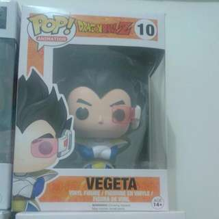 VEGETA FROM DRAGON BALL Z FUNKO POP