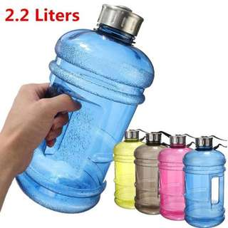 2.2L Large Capacity Water Bottles. #Outdoor #Sports #Gym Half #Gallon #Fitness #Training #Camping #Running #Workout #Water Bottle