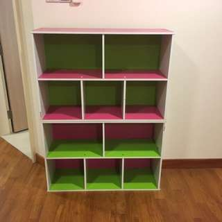 Last Price! Final Children's Storage Bookshelves
