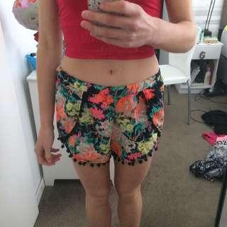 Pompom Shorts Size S
