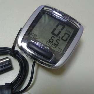 Deuter Bicycle Computer Speedometer Distance Measure Counter