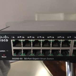 Cisco 50 Port Gigabit Smart Switch