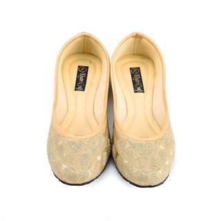 Dress Up or Down Nude or Tan Ethnic Shoes For Women