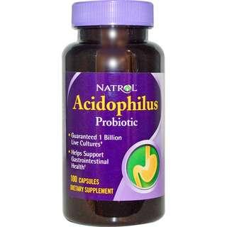 1 Billion Acidophilus Probiotic Live Cultures
