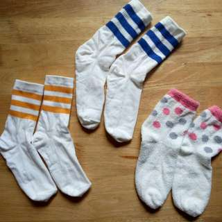 Cute Socks 3 For 100