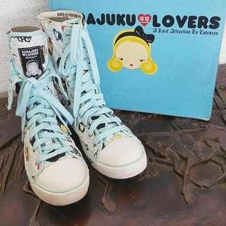 HARAJUKU LOVERS High Top Sneakers