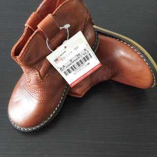 Zara Baby Shoe-Leather Boot