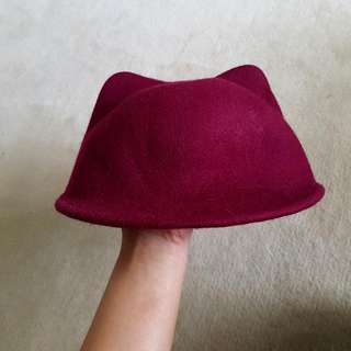 Maroon Kids Hat
