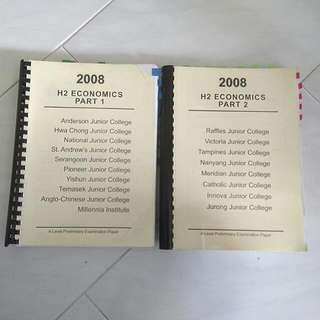 2008 JC Past Year Papers (various JCs)