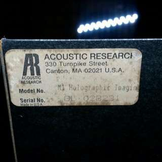 Acoustic Research Holographic Speakers M1