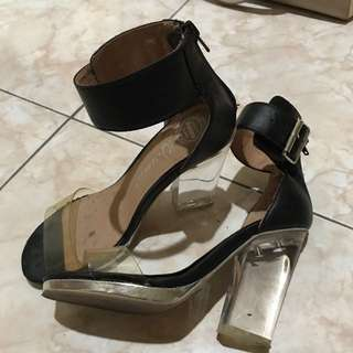 Jeffrey Campbell Clear Heels