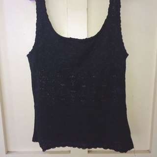 Preloved Lace Top
