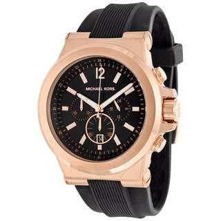((保證正品))Michael Kors 玫瑰時尚金 三眼 腕錶/手錶 MK8184 男錶/女錶