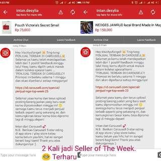 2 Kali Jadi SELLER OF THE WEEK, terharu 😍