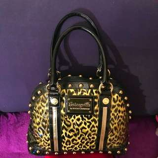 Transparent Leopard Betsey Johnson Purse