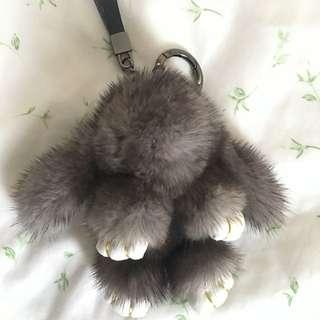 Fluffy Animal Key Ring
