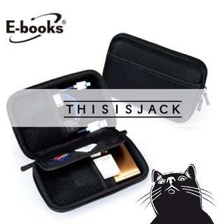 🚚 《THIS IS JACK》E-books U1多功能防震收納包 黑 限定 現貨免等