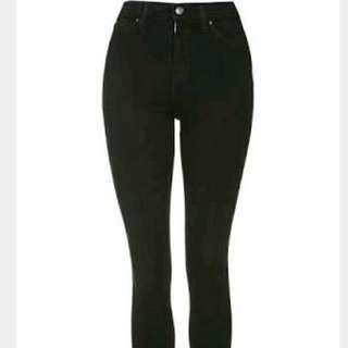 Topshop Moto Jamie Black Jeans