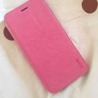 BNIB iPhone 6/6s Plus Leather Casing (Pink) - Free Postage
