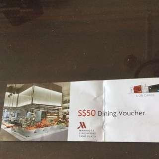 $50 Dining Voucher
