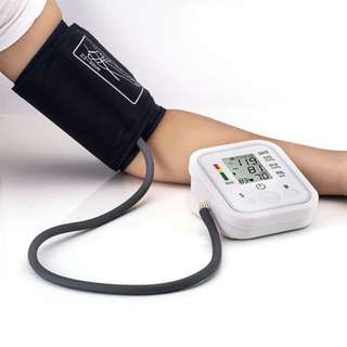 血壓計 發聲 英文顯示 USB electronic blood pressure monitor