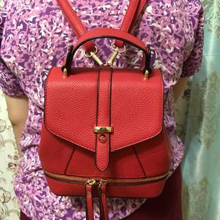 MINI BACKPACK MERAH / RANSEL KECIL