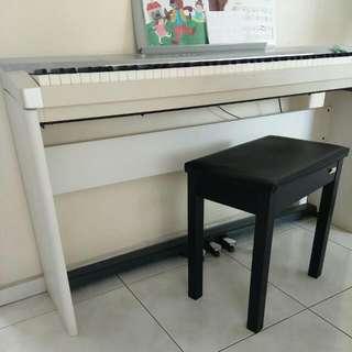 CASIO digital piano with stool