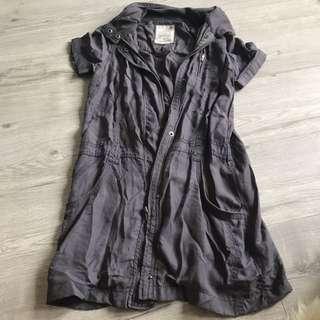 Grey Light Jacket