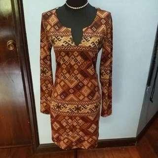 Fforever 21 Burgundy Dress