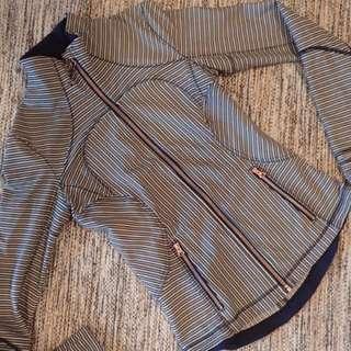 Lululemon Striped Jacket
