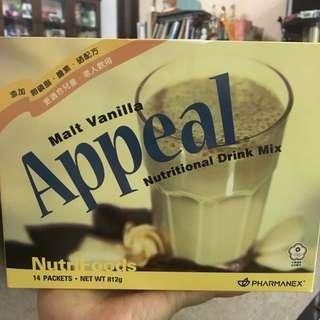 Nuskin如新Appeal麥芽香草口味