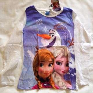 Frozen Long Sleeves 4-5T