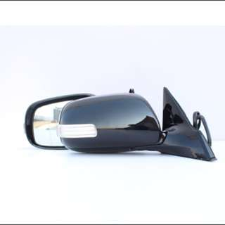 2006-2009 Toyota Mark X G120 Black Side Mirror