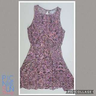 Cotton on pastel printed dress. Extra small. Php 300. Lightweight material and feels good on the skin.