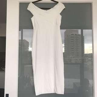 Kookai White Bond Dress
