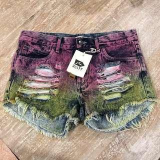 BNWT Rust Denim Shorts Size 10